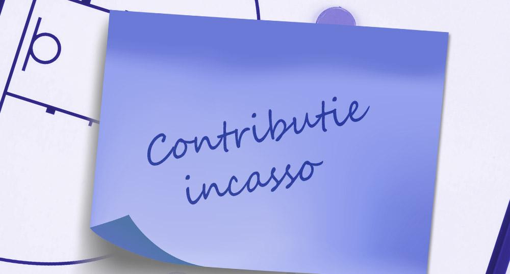 Contributie incasso 30 november