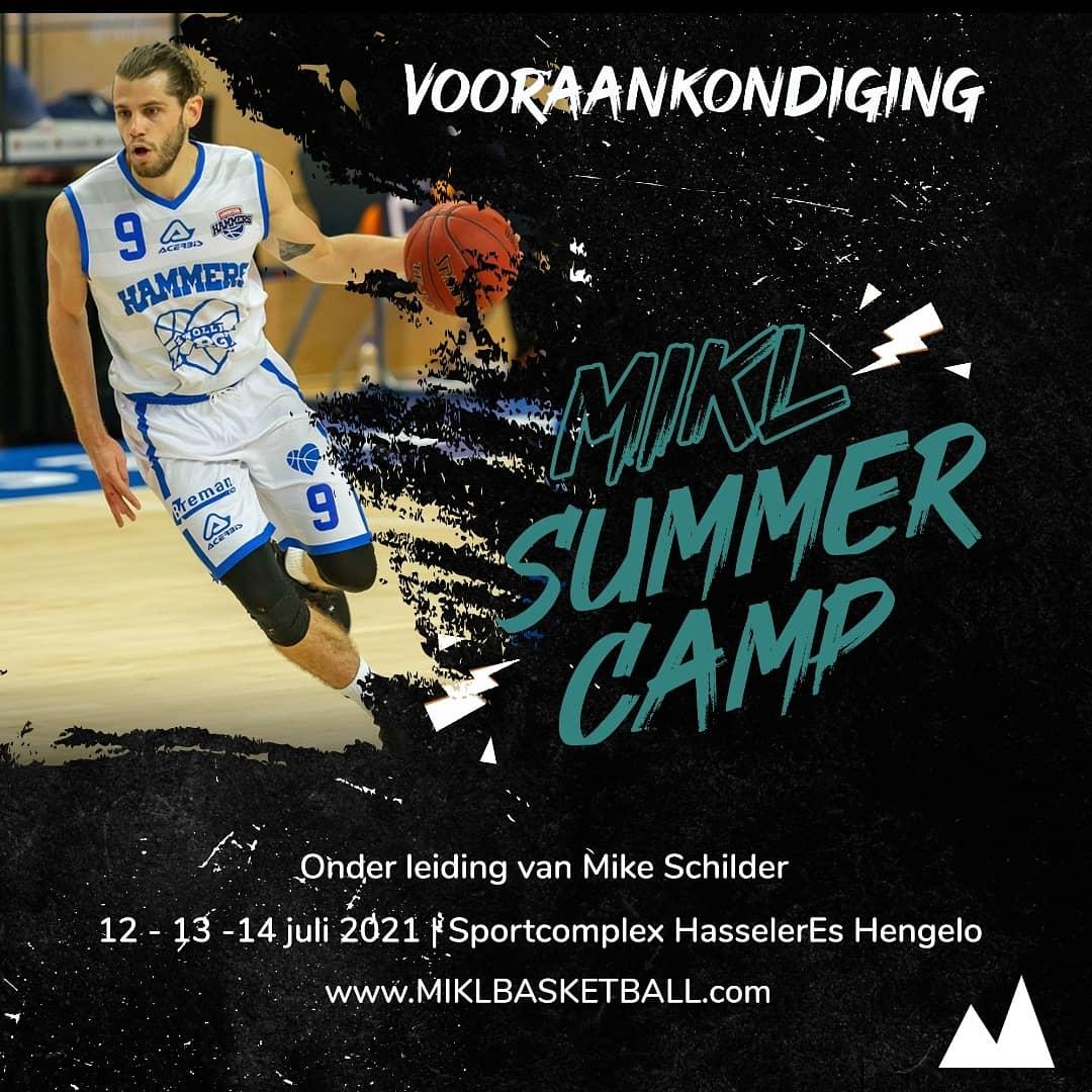MIKL Basketball Camp in Hengelo!